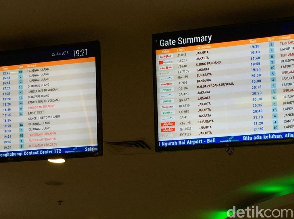 Bandara di Halmahera Ditutup karena Abu Vulkanik