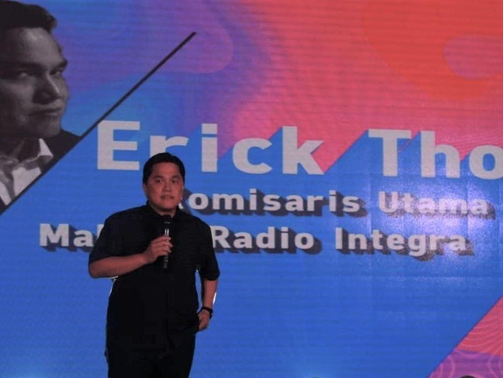 Kerugian Perusahaan Media Erick Thohir Bengkak Jadi Rp 23 M