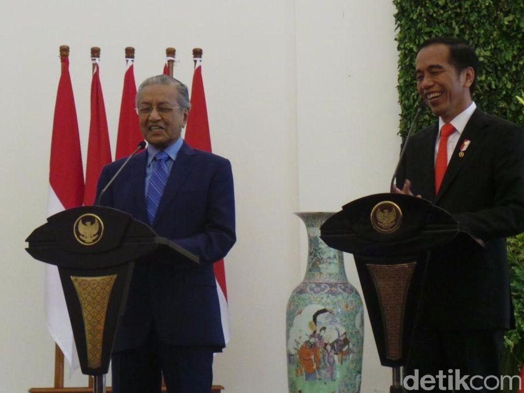 Mahathir Ucapkan Belasungkawa atas Gempa NTB ke Jokowi