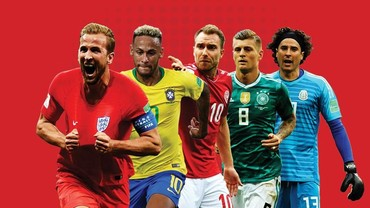 Statistik Fase Grup Piala Dunia 2018 dalam Infografis
