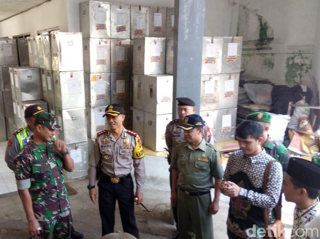 Polri-TNI Garut Perketat Penjagaan Hasil Pilkada Serentak 2018