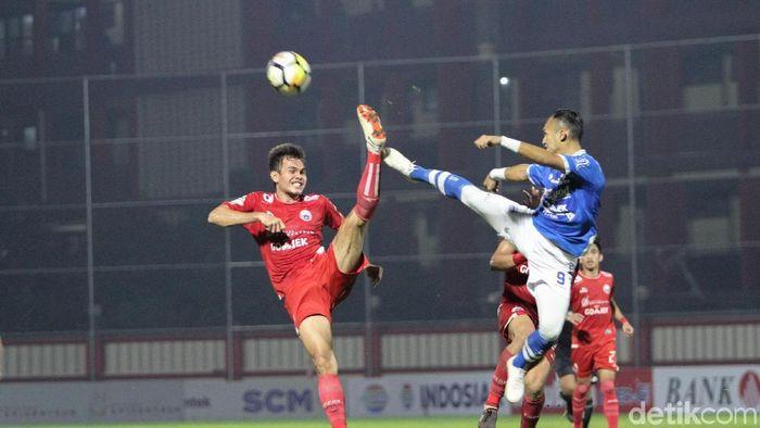 Persija Jakarta versus Persib Bandung di SUGBK sore ini (Rifkianto Nugroho/detikSport)