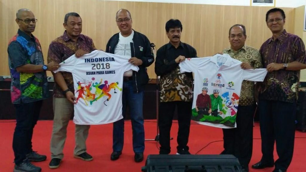 Kemenpora Promosikan Asian Para Games lewat Jelajah Sepeda Nusantara 2018