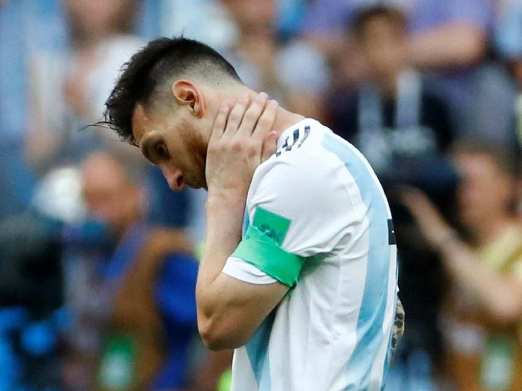 Messi Belum Juga Cetak Gol di Fase Knockout Piala Dunia