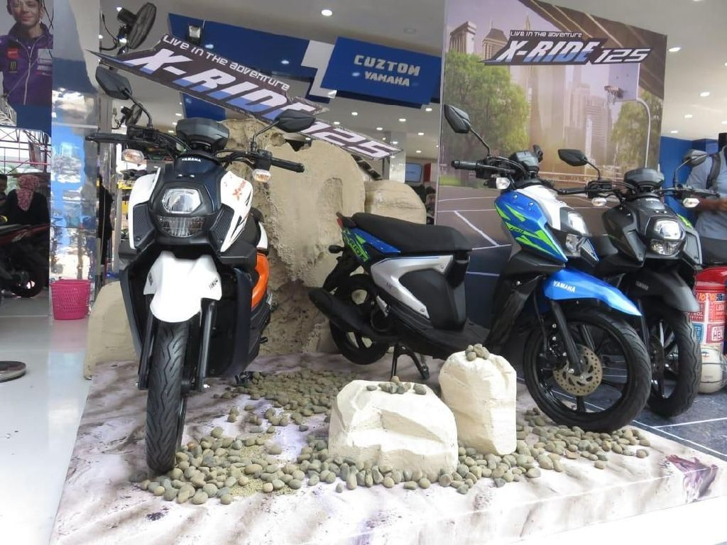 Ini Alasan Yamaha Luncurkan X-Ride Usai Lebaran