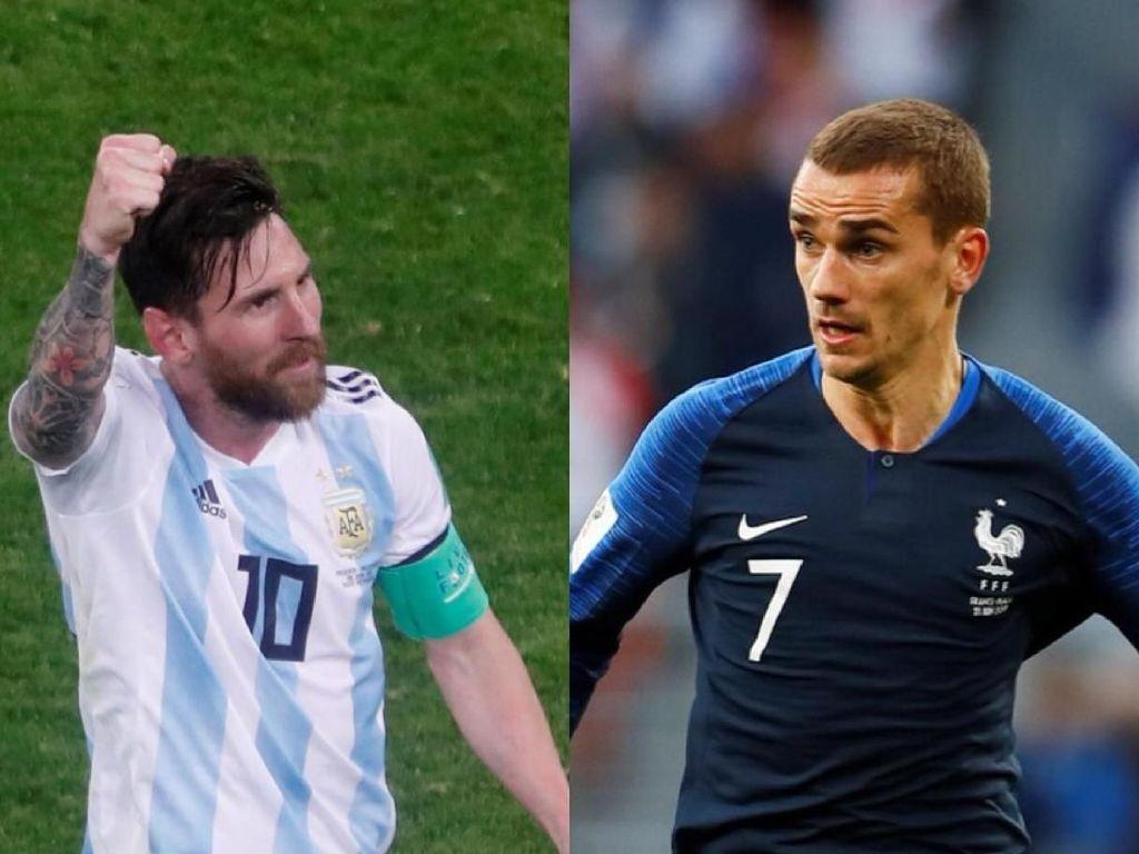 Prediksi Prancis vs Argentina: Sempoyongan, Tim Tango Tak Punya Peluang