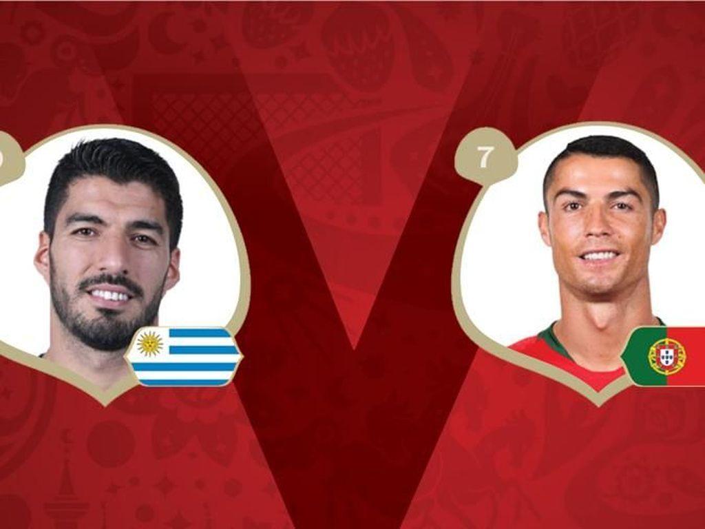 Uruguay Vs Portugal: Menyengat Aroma El Clasico!