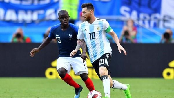 Sukses Redam Messi, Kante Kembali Jadi Tumpuan Prancis