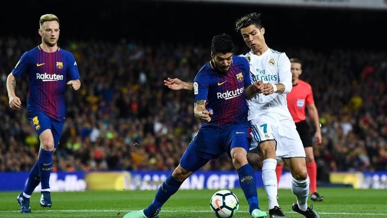 Kali Ini Tak Ada El Clasico dalam Duel Suarez dan Ronaldo