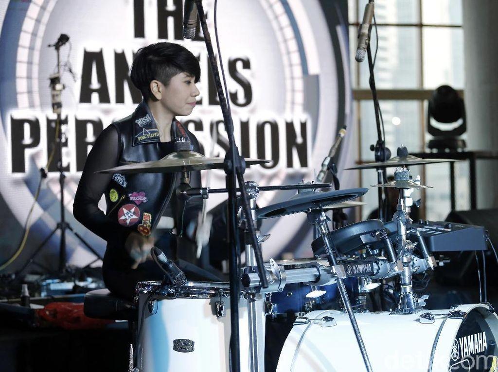 Duet Maut Angel Percussion dan Ikmal Tobing di Kumpul ID