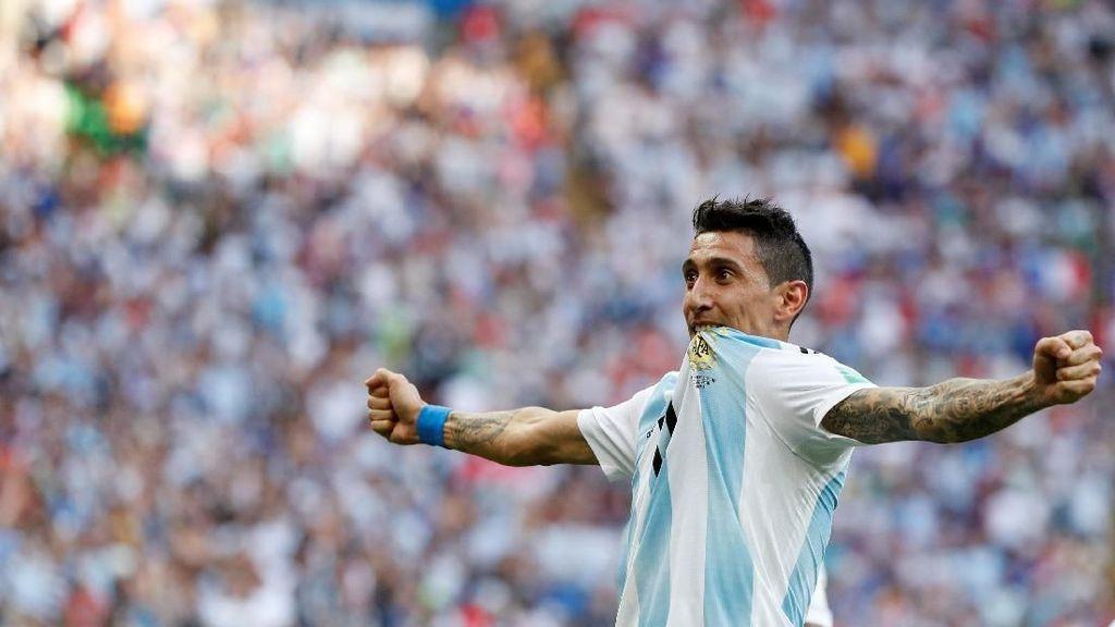Video: Gol Tendangan Geledek Di Maria, Prancis 1-1 Argentina