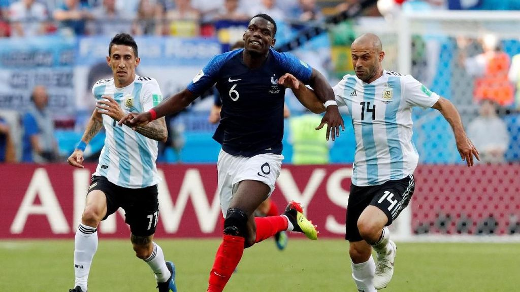 Video Highlights Babak I Prancis Vs Argentina