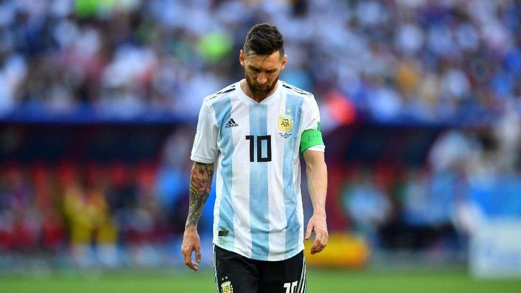 Jangan Sedih dan Tenangkanlah Diri di Rosario, Messi