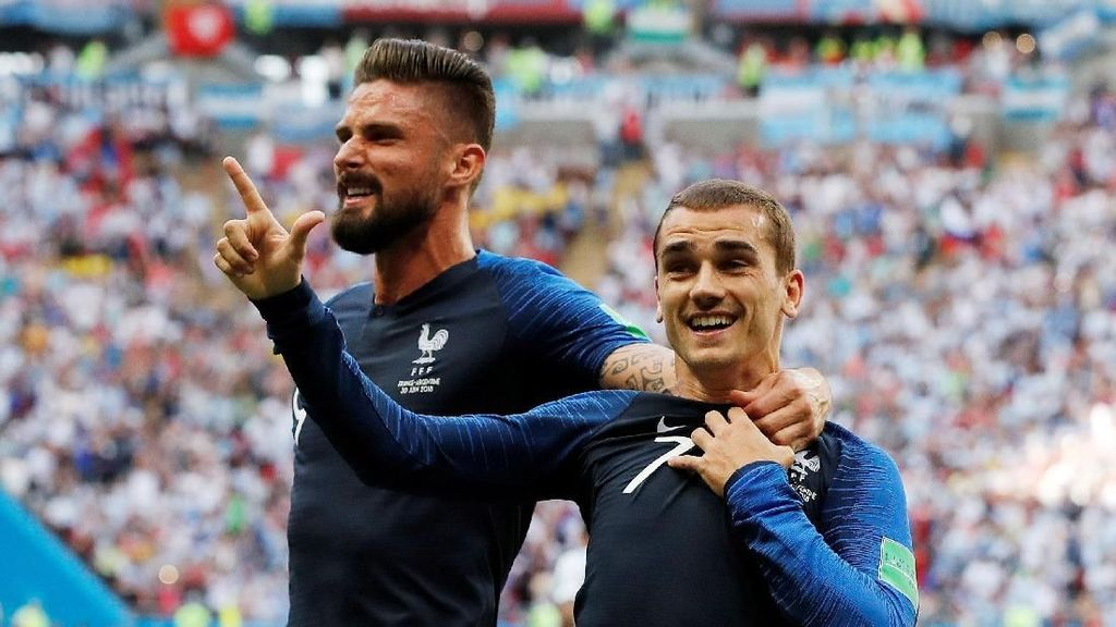 Video: Gol Penalti Griezmann Buat Prancis Unggul 1-0