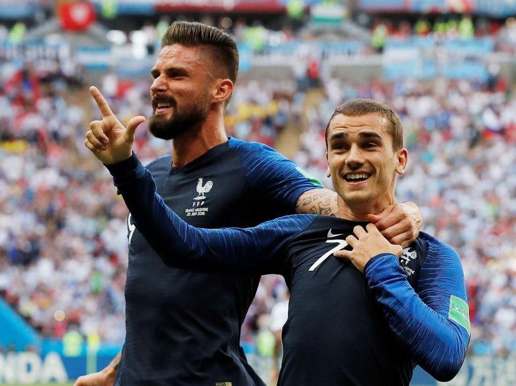 Prediksi Prancis vs Belgia, Bursa Jagokan Les Bleus