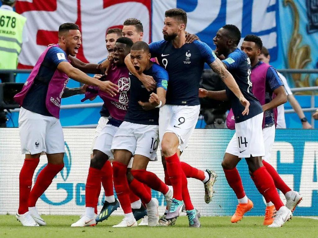 Prancis Kalahkan Argentina 4-3