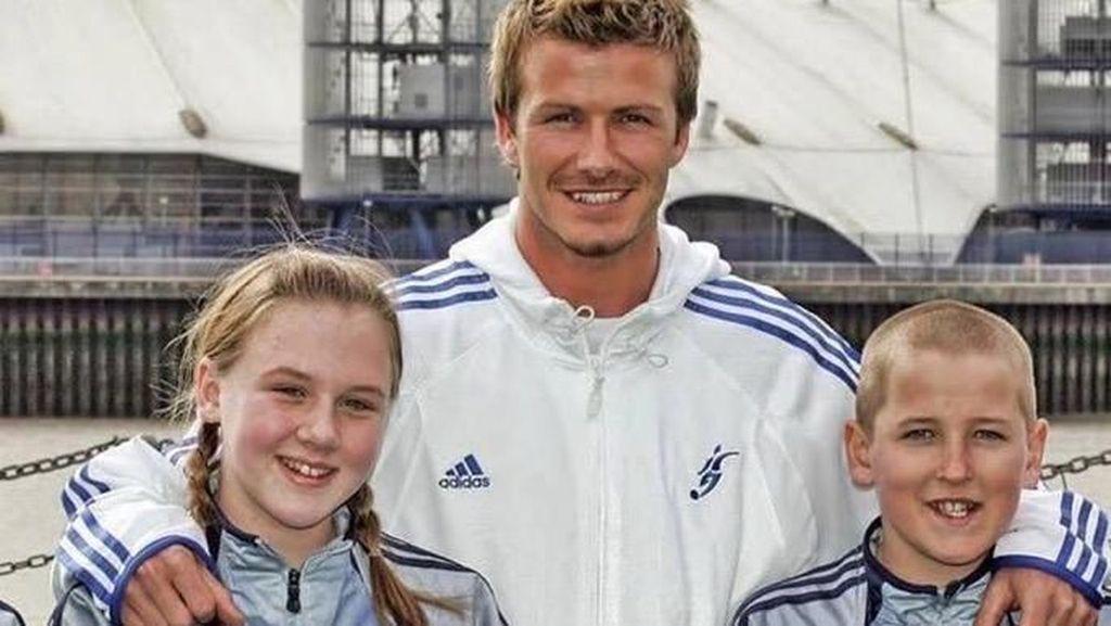 Kisah 2 Anak yang Foto Bareng Beckham, Tak Disangka Berjodoh Saat Dewasa