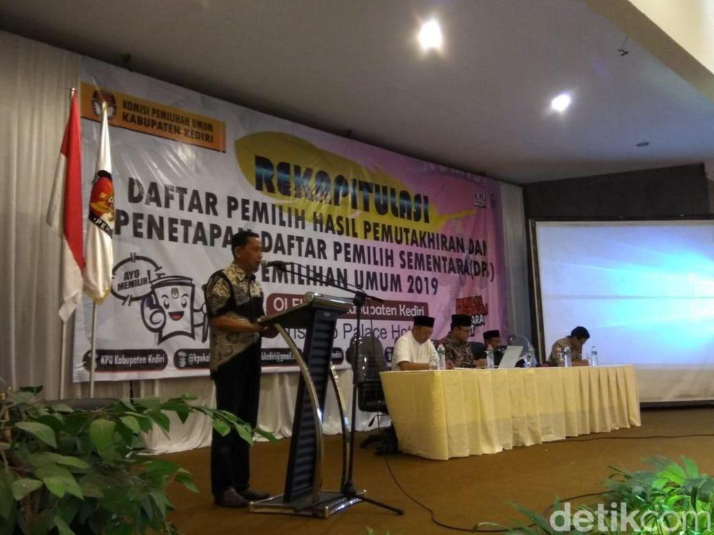 KPU Kabupaten Kediri Juga Lakukan Pemungutan Suara Ulang Besok