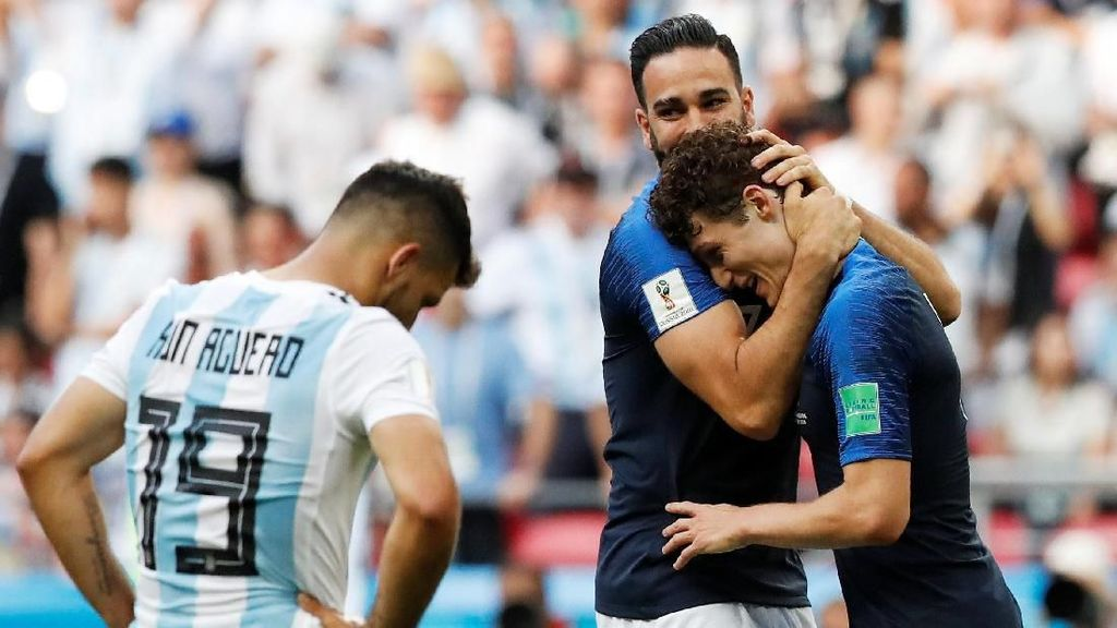 Video Highlights: Prancis Vs Argentina 4-3