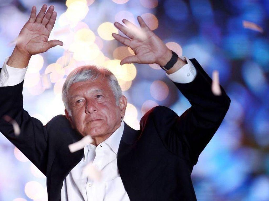 Meksiko Gelar Pilpres Besok, Donald Trump Meksiko Diprediksi Menang