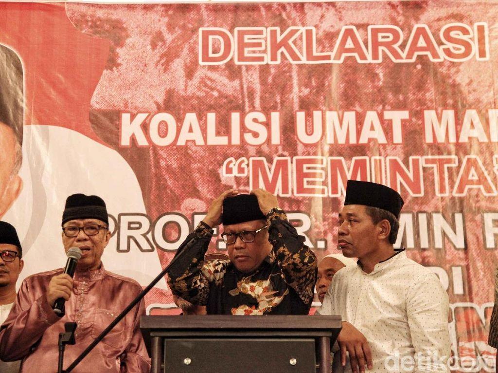 Usung Amien Rais Capres, Koalisi Ummat Madani Sebut Didoakan PA 212