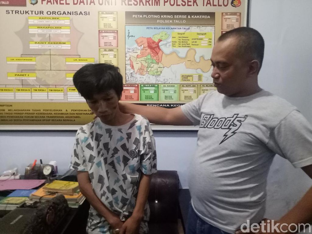 Polisi Tangkap Pembobol 6 Rumah Warga di Makassar