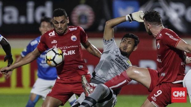 Persija Jakarta saat ini bertengger di peringkat kelima klasemen Liga 1 2018.