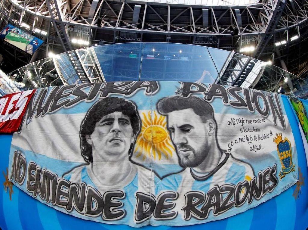 Presiden Argentina Lebih Kagum Siapa, Messi atau Maradona?