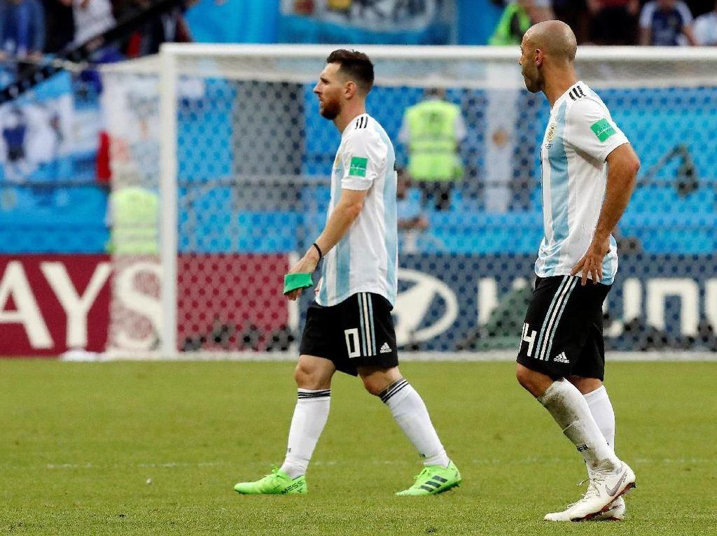 Mascherano: Jangan Pensiun Dulu, Messi