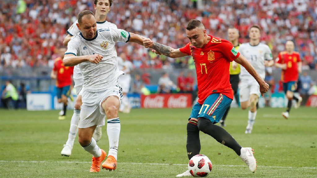 Video Highlights Babak Tambahan Spanyol Vs Rusia
