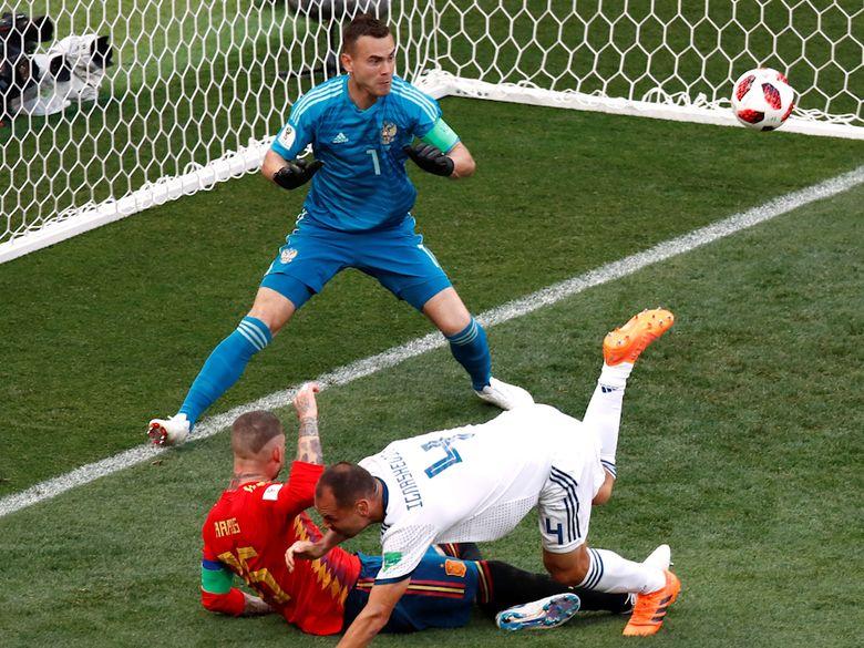 Kalahkan Spanyol Lewat Adu Penalti, Rusia ke Perempatfinal