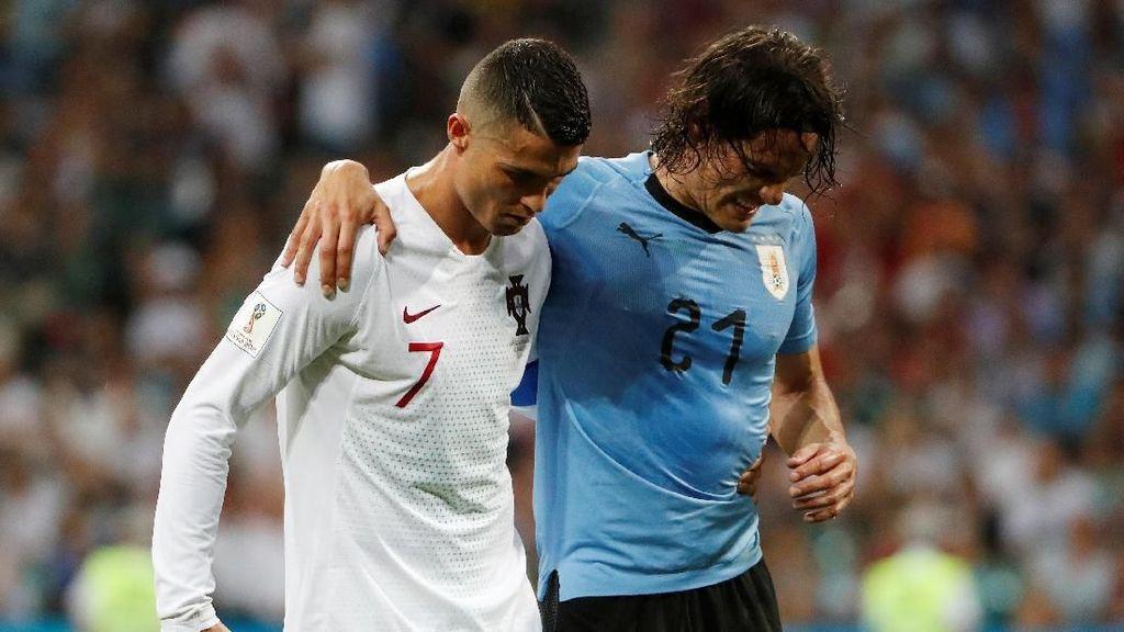Video Highlights: Uruguay Vs Portugal 2-1