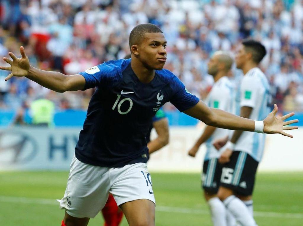 Hasil Pertandingan Piala Dunia 2018: Prancis vs Argentina Skor 4-3