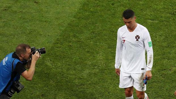 Cristiano Ronaldo gagal membawa Portugal melangkah lebih jauh di Piala Dunia 2018
