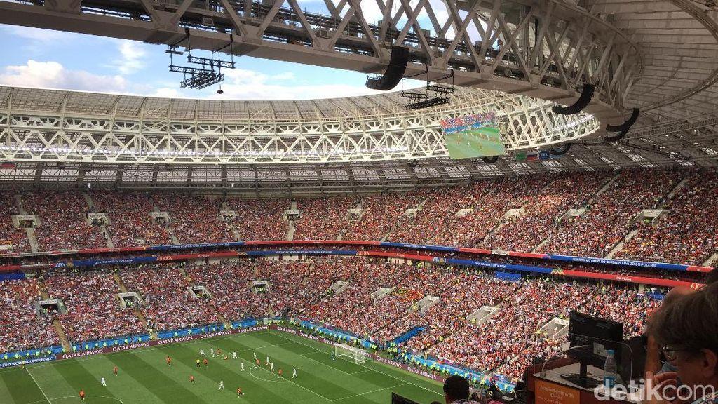 Stadion Luzhniki Saksi Keperkasaan Prancis, Inspirasi Bung Karno