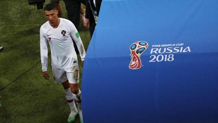 Kelanjutan karier Cristiano Ronaldo di timnas Portugal jadi tanda tanya. (Foto: Sergio Perez/Reuters)