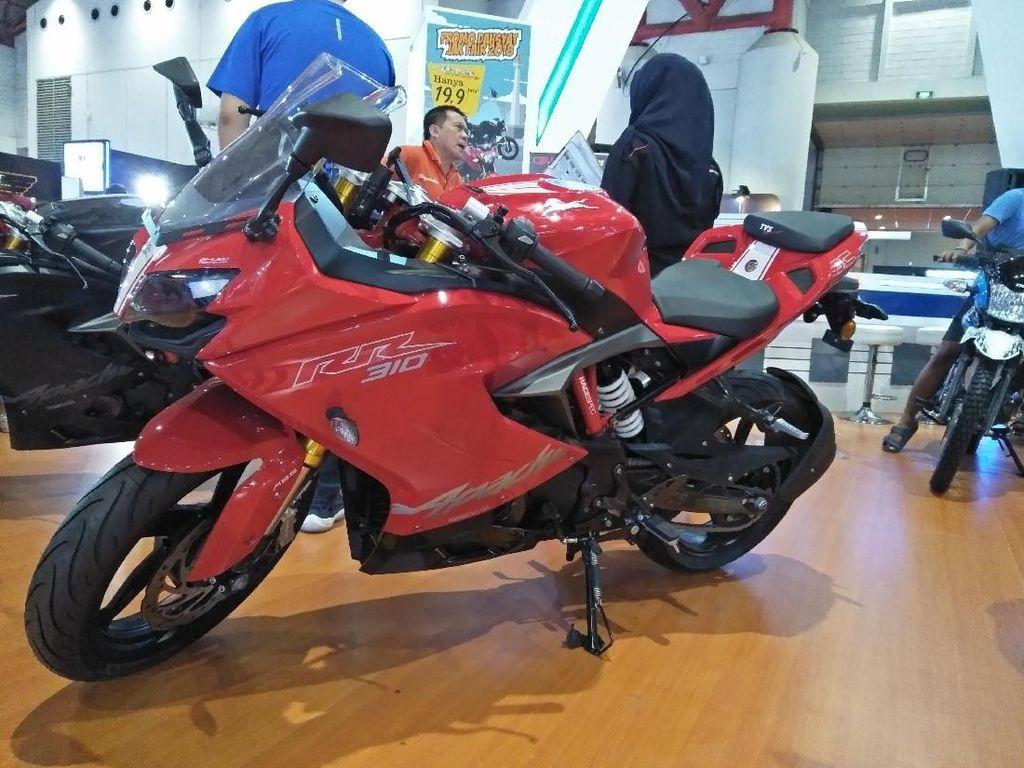 Wow! TVS dan BMW Motorrad Garap Motor Dua Silinder