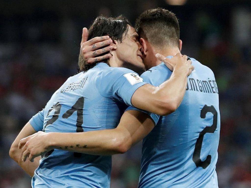 Dedikasi Cavani dkk Jadi Kunci Kemenangan Uruguay
