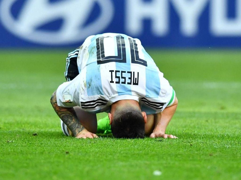 Messi Pernah Menangis Seperti Anak Kehilangan Ibunya