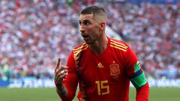 Rekor Ramos di Kekalahan Spanyol