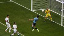 Video: Sundulan Cavani! Uruguay 1-0 Portugal