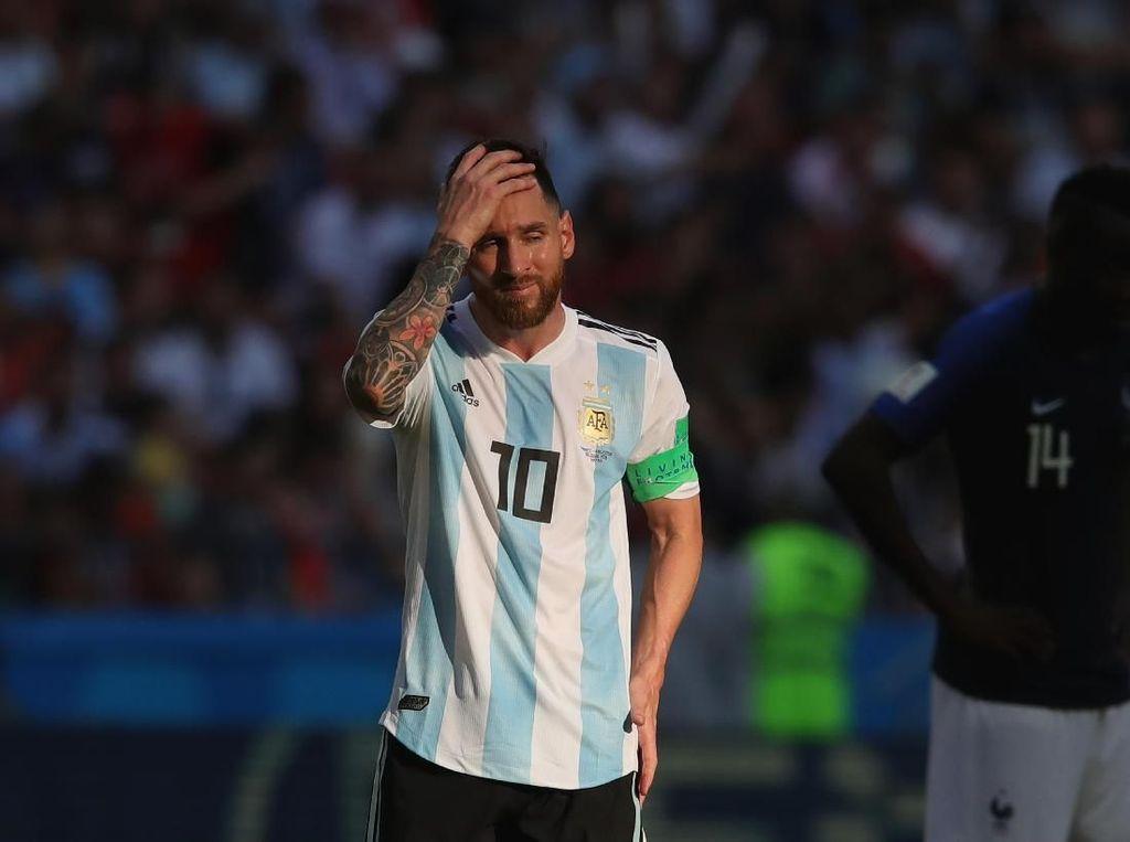 Argentina Sabar Menunggu Lionel Messi