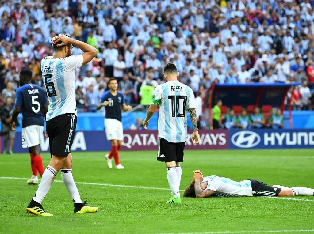 Argentina Sudah Berusaha, tapi Hasilnya Menyakitkan