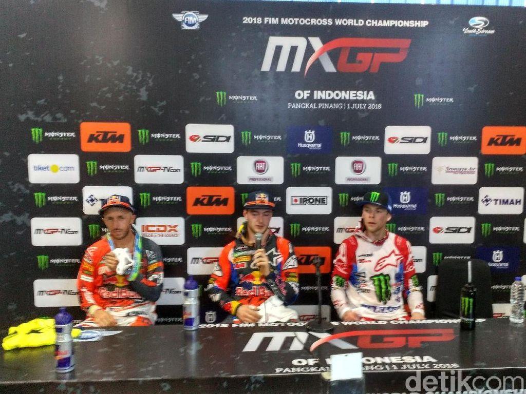 Crosser Belanda Berjaya dalam Race 2 Indo MXGP di Pangkalpinang