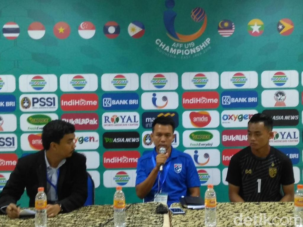 Piala AFF U-19: Thailand Beruntung Imbangi Vietnam
