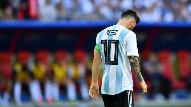 Lionel Messi bikin satu gol dan tiga assist di Piala Dunia 2018 ini