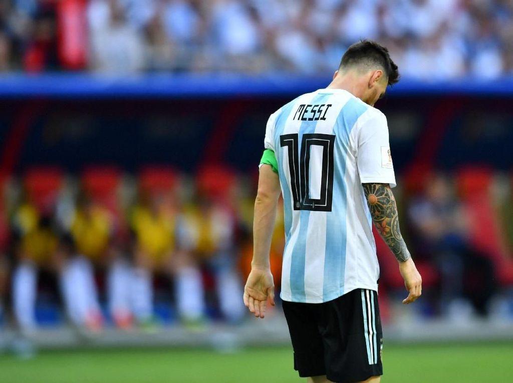 Kalau Messi Lagi Sedih, Icardi Sudah Happy
