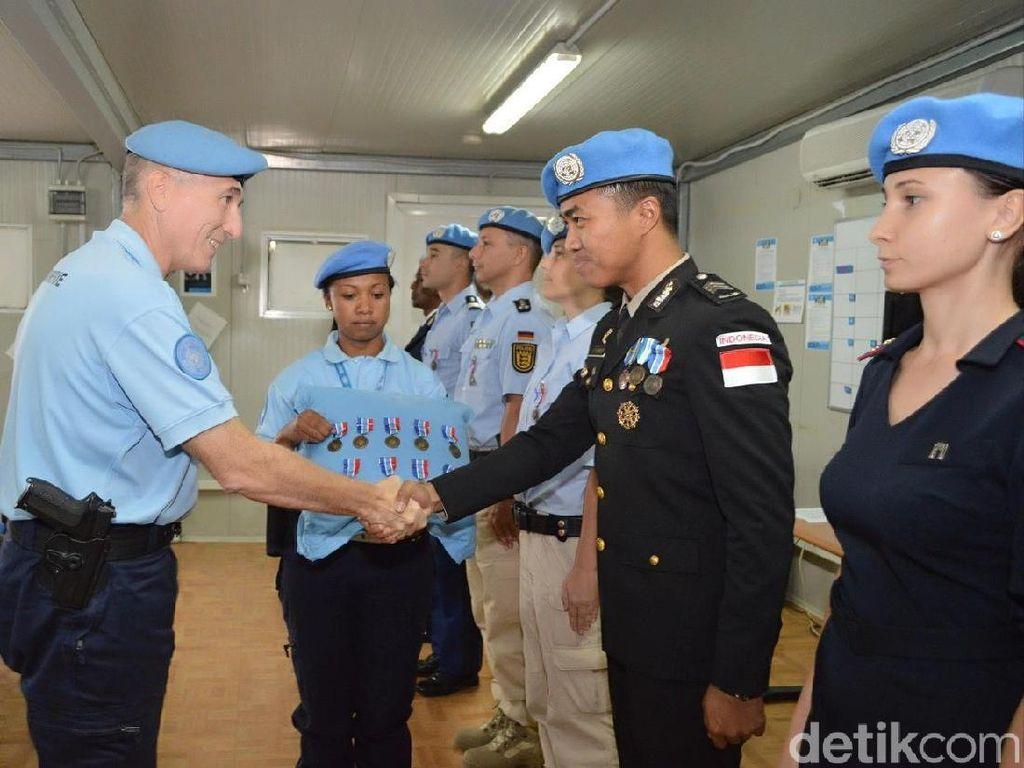Anggota Polres Magelang Terima Penghargaan PBB di Haiti