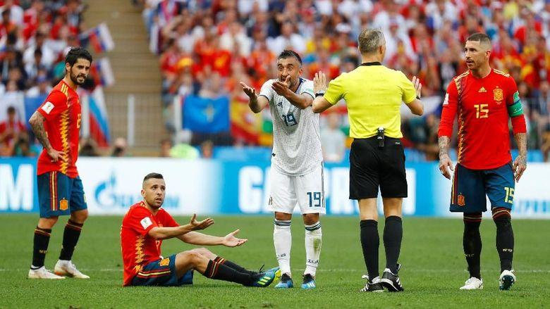 Spanyol Vs Rusia Sementara 1-1