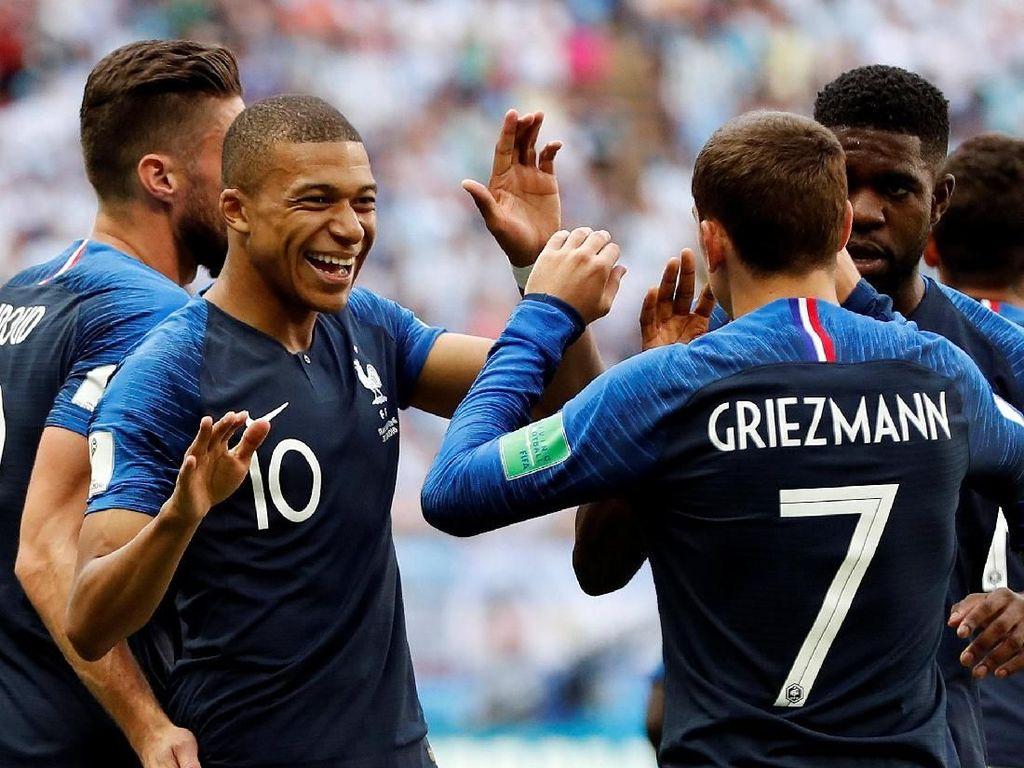 Road to Final Piala Dunia 2018: Prancis Meragukan di Awal